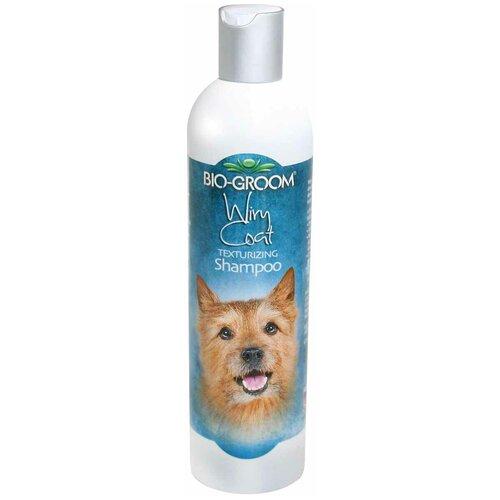 Шампунь Bio-Groom Wiry Coat текстурирующий для жесткой шерсти собак и кошек 355 мл шампунь bio groom super white для собак белого и светлых окрасов 355 мл