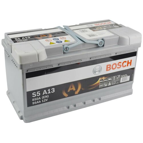 Автомобильный аккумулятор Bosch S5 A13 AGM (0 092 S5A 130)