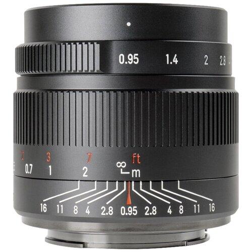 Объектив 7artisans 35mm f/0.95 Micro 4/3 черный
