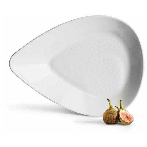 SagaForm Блюдо для запекания Ovate белое Piccadilly