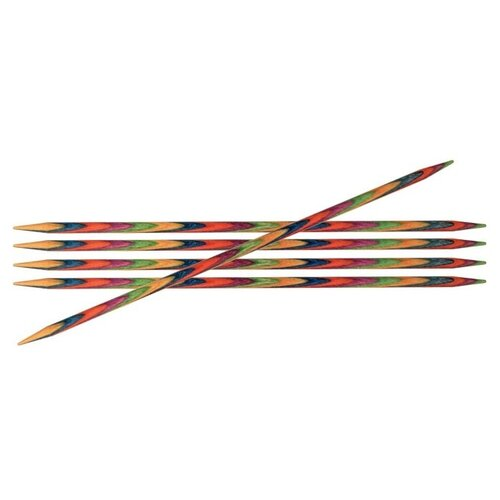 Купить Спицы Knit Pro Symfonie 20136, диаметр 3.75 мм, длина 10 см, разноцветный