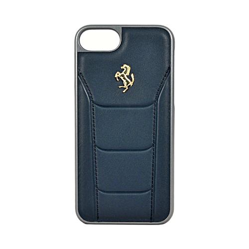 Накладка Ferrari 488 Gold Hard для iPhone 7 / 8 / SE 2020 - Dark Blue