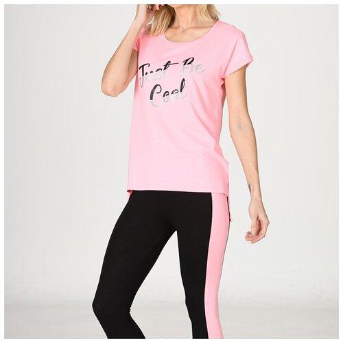 комплект домашний женский vienetta s secret цвет розовый 711026 5167 размер 3xl 54 Домашний костюм для женщин 25132 OZKAN, Размер: S, Цвет: Розовый, 1 шт. в упаковке