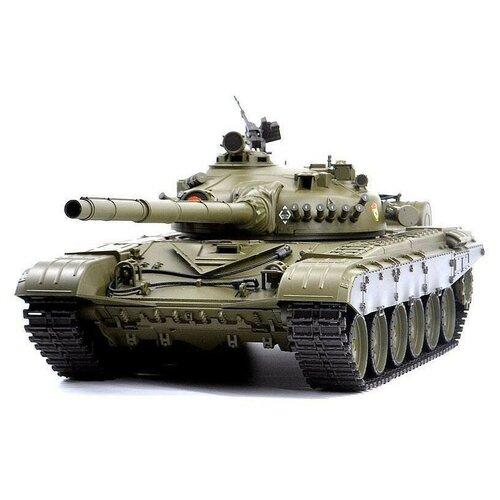 Фото - Радиоуправляемый танк Heng Long T-72 Original V6.0 2.4G 1/16 RTR, HL3939-1O6.0 радиоуправляемый танк heng long радиоуправляемый мини танковый бой cs toys 9819