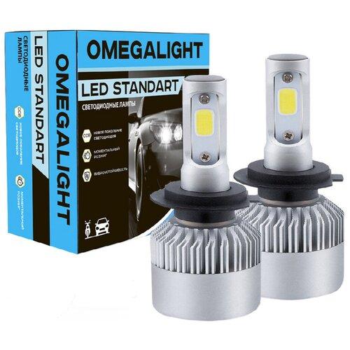 Лампа автомобильная светодиодная Omegalight Standart OLLEDH11ST-2 Н8/Н9/Н11 17W 2 шт.