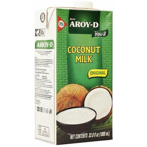 Фото - Молоко кокосовое Aroy-D Original 70% 17%, 1 л aroy d масло 100% кокосовое extra virgin 0 18 л