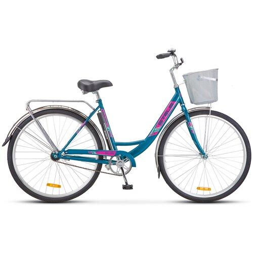 """Городской велосипед STELS Navigator 345 28 Z010 (2021) морская волна 20"""" (требует финальной сборки)"""