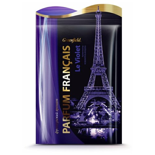 Greenfield Ароматизатор-освежитель воздуха Parfum Francais Le Violet, 15 гр greenfield ароматизатор освежитель воздуха parfum francais le violet 15 гр