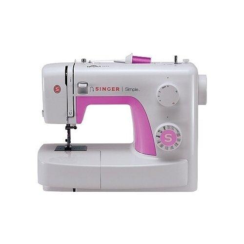 Швейная машина Singer Simple 3223 белый/розовый недорого