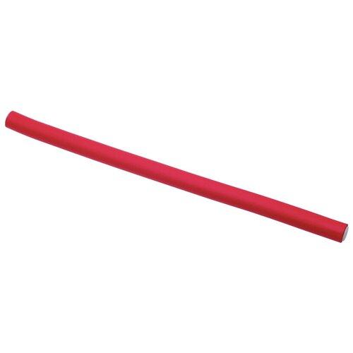 Фото - Бигуди-бумеранги DEWAL Pro BUM12240 (12 мм) 10 шт. красный бигуди бумеранги dewal оранжевые d18ммх150мм 10 шт уп dewal mr bum18150