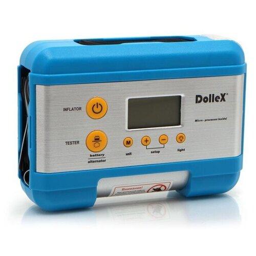 Автомобильный компрессор Dollex DL-8101 синий/серый