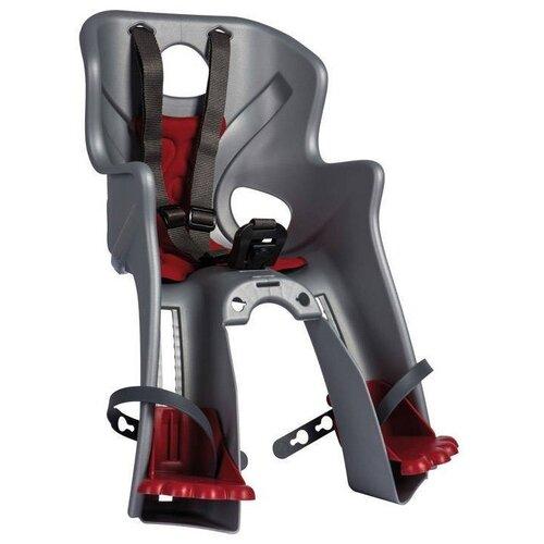 Купить Велосипедное детское кресло переднее 15кг Bellelli Rabbit Multifix - Серое (01RBTM0002), Велокресла