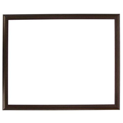 Купить Рама для картин (зеркал) пластик 40*50*2.7 см, Calligrata 647250, мокрый асфальт 5090333, Рамки