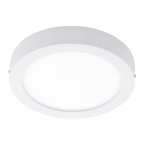 Фото - Накладной светильник Eglo ПРОМО, 1х18W, белый, размеры (мм)-225x35, 3000К, плафон - белый накладной светильник novotech 3х12w белый размеры мм 105x38x236 3000к плафон белый черный