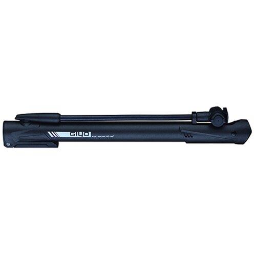 Фото - Насос 6-190640 GM-64P пластиковый с гибком удлиненным шлангом, универсальная головка, Т-ручка, с ножным упором, черный GIYO насос giyo gm 06