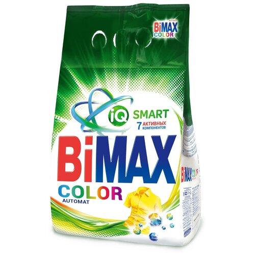 Стиральный порошок Bimax 100 цветов Color Compact (автомат), пластиковый пакет, 6 кг недорого