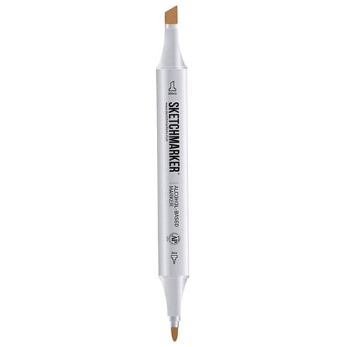 SketchMarker Маркер на спиртовой основе BR61 pecan sketchmarker маркер на спиртовой основе v111 steel pink