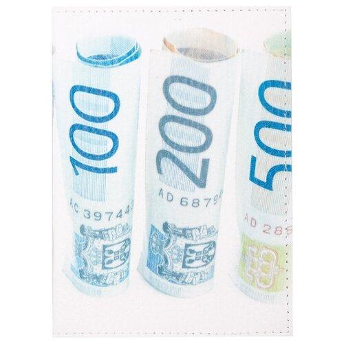 Обложка для паспорта OfficeSpace Евро, белый