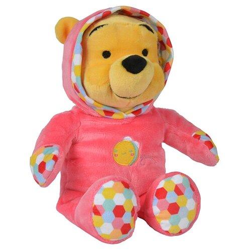 Мягкая игрушка Nicotoy Медвежонок Винни в комбинезоне 25 см