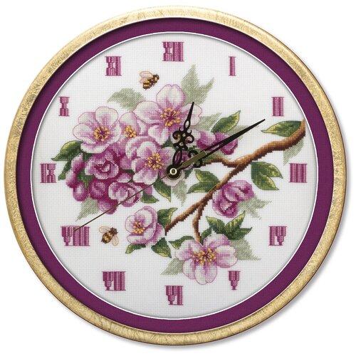 PANNA Набор для вышивания Часы. Цветут сады 25 х 25 см (Ч-1579)
