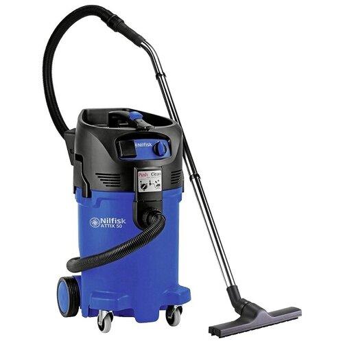 Фото - Профессиональный пылесос Nilfisk ATTIX 50-21 PC, 1500 Вт, синий/черный профессиональный пылесос nilfisk vl 200 20 pc 1200 вт