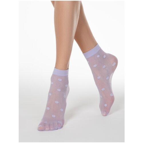 Капроновые носки Conte Elegant 16С-124СП, размер 23-25, violet