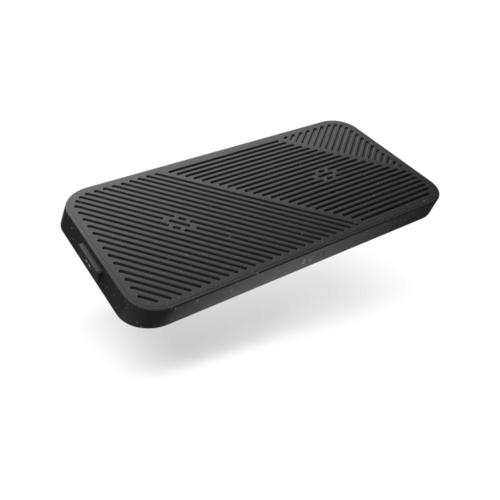 Фото - Беспроводное зарядное устройство ZENS Modular Dual Wireless Charger 2 x 15W. Цвет: черный. беспроводное зарядное устройство baseus cobble wireless charger 15w черный bs w501