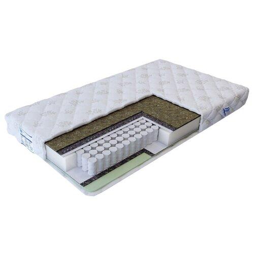 Матрас Промтекс-Ориент Soft Стандарт бикокос 1, 90x190 см, пружинный матрас промтекс ориент soft стандарт бикокос 1 110x190 см пружинный