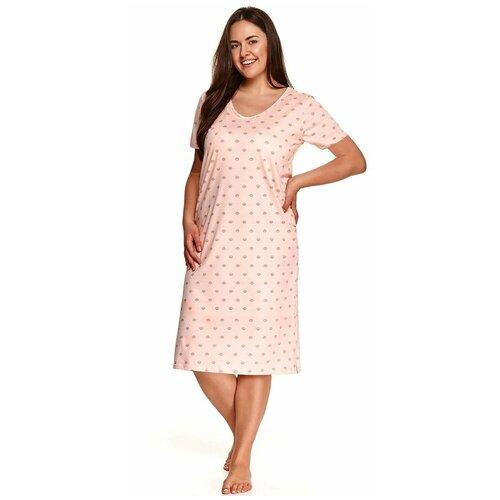 Фото - Сорочка Taro Karina, размер 2XL, персиковый сорочка taro размер m персиковый