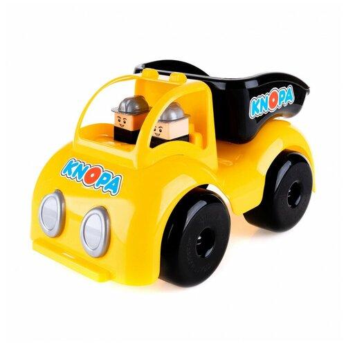 Машинка KNOPA самосвал Крепыш на стройке 33см KNOPA