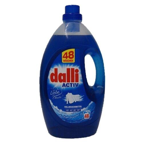 Фото - Гель для стирки Dalli Activ для белого и цветного белья, 20 стирок, 2.75 л, бутылка гель для стирки dalli sport
