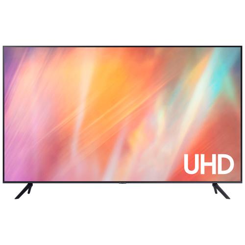 Фото - Телевизор Samsung UE75AU7100U 74.5 (2021), черный телевизор samsung ue50au7100u 49 5 2021 черный