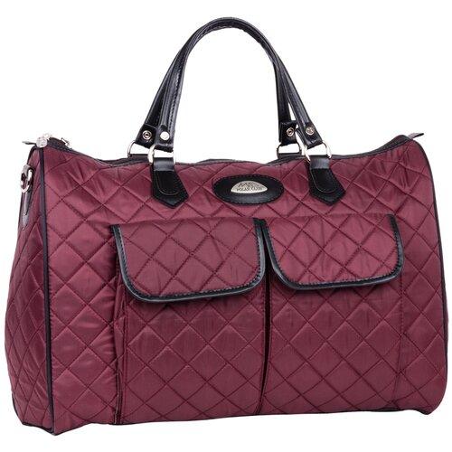 Дорожная сумка П7081 бордовый