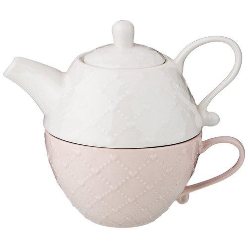 Набор эгоист : чайник, чашка Lefard (374-069)