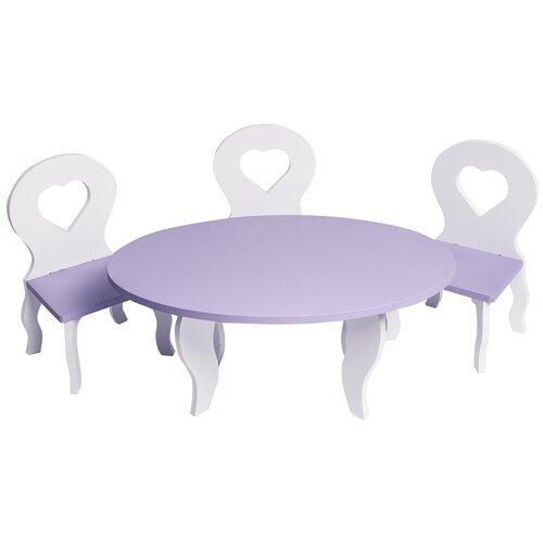 Фото - PAREMO Набор мебели для кукол Шик (PFD120) белый/фиолетовый paremo набор мебели для кукол цветок pfd120 45 pfd120 46 pfd120 44 pfd120 42 pfd120 43 белый фиолетовый