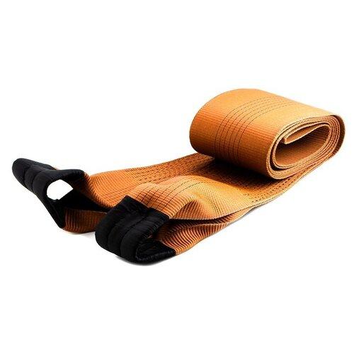 Ленточный буксировочный трос TOP AUTO Рострос Премиум 18042 5 м (42 т) оранжевый