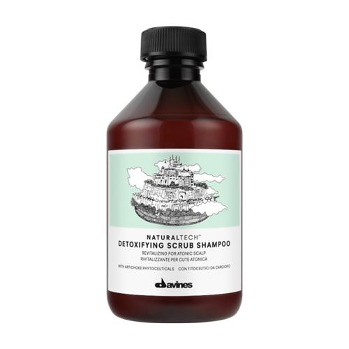 Davines шампунь-скраб NaturalTech Detoxifying, 250 мл недорого