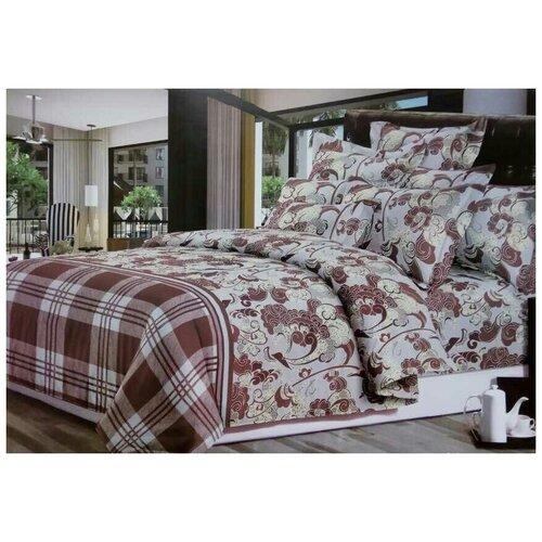 Комплект постельного белья, поплин (6317) (Семейный)