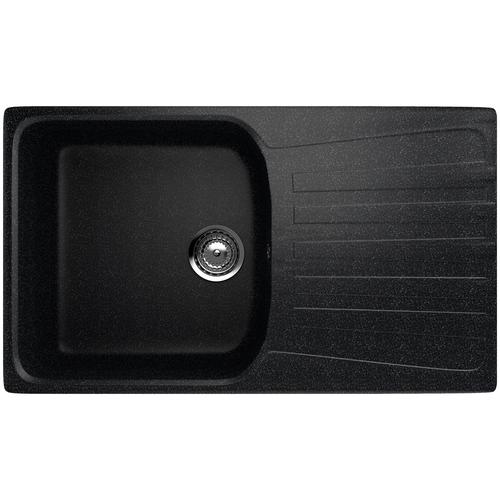 Фото - Врезная кухонная мойка 83 см EcoStone ES-20 308 черный врезная кухонная мойка 103 см ecostone es 29 308 черный