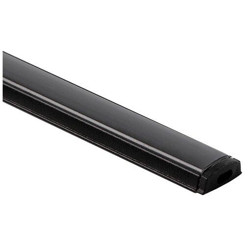 Гибкий алюминиевый профиль для светодиодной ленты Elektrostandard LL-2-ALP012 Гибкий алюминиевый профиль черный/черный для LED ленты (под ленту до 10mm)