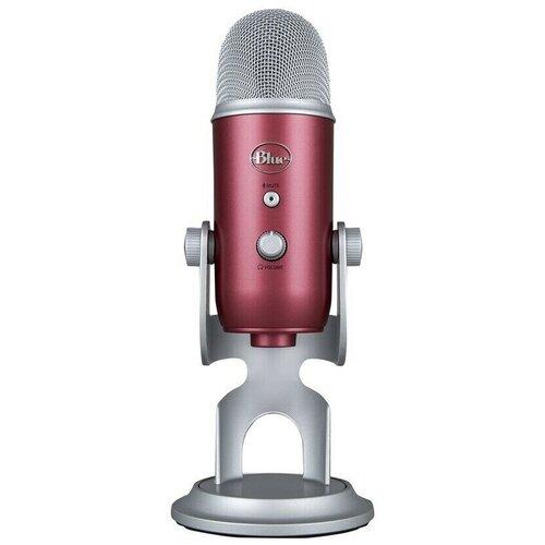Микрофон Blue Microphones Yeti USB Steel Red