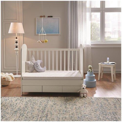 Матрас детский Yatas Bedding Twiny Foam, Беспружинный, 60х120 см