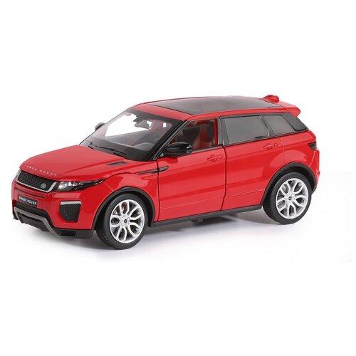 Фото - Легковой автомобиль Автопанорама Range Rover Evoque HSE (JB1200120/JB1251129) 1:24, 18 см, красный легковой автомобиль rastar land rover range rover sport 30300 1 24 21 см красный