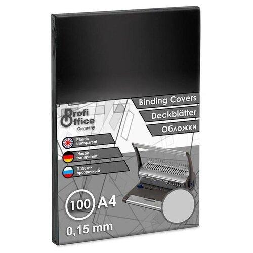 Фото - Обложка ProfiOffice A4 150 мкм глянец прозрачный 100 шт. profioffice cutstream hq 361