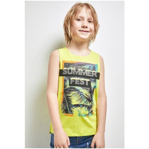 Купить Майка для мальчиков размер 164, желтый, ТМ Acoola, арт. 20114220030, Футболки и майки