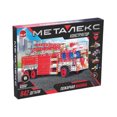 Конструктор UNICON Металекс 874062 Пожарная машина