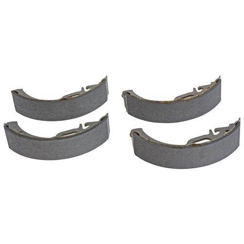 Барабанные тормозные колодки задние LADA 11180-3502090-55 для LADA Kalina, LADA Priora (4 шт.)