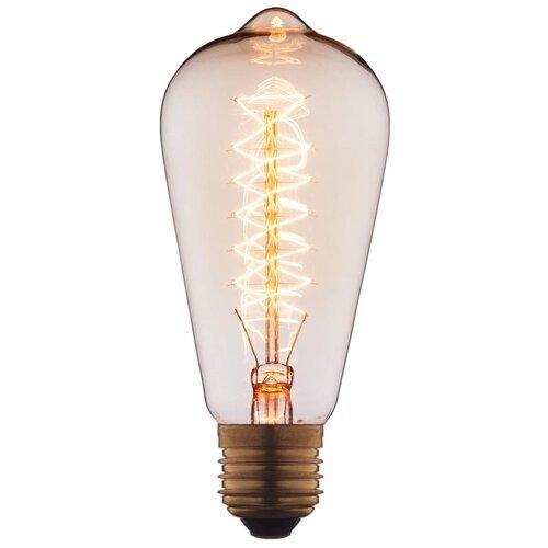 Лампочка накаливания Loft it Edison Bulb 6440-CT E27 40W