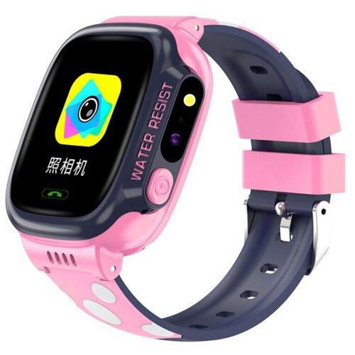 Детские умные часы Smart Baby Watch Y92, розовый умные часы smart watch w8