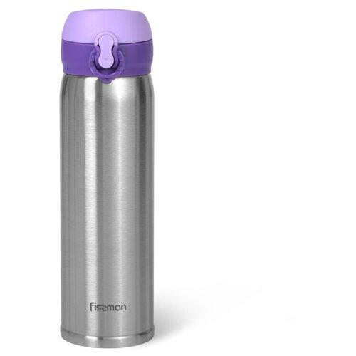 Термокружка Fissman 9821/22, 0.43 л фиолетовый